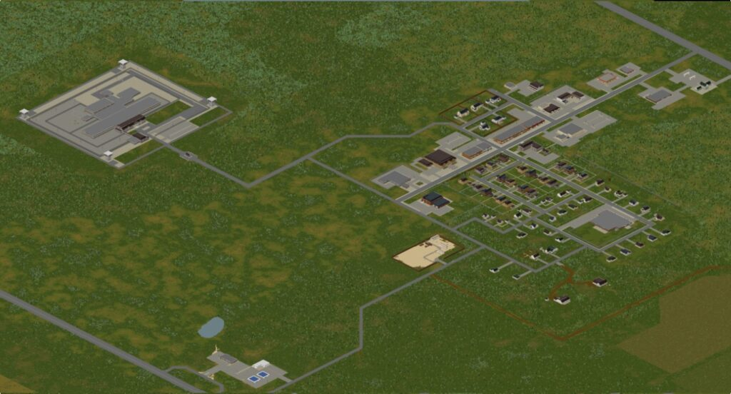Rosewood: Project Zomboid map Build 41