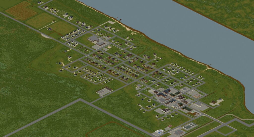 West Point: Part of the Project Zomboid Map of Build 41
