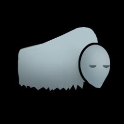 Muffalo animal from the game Rimworld