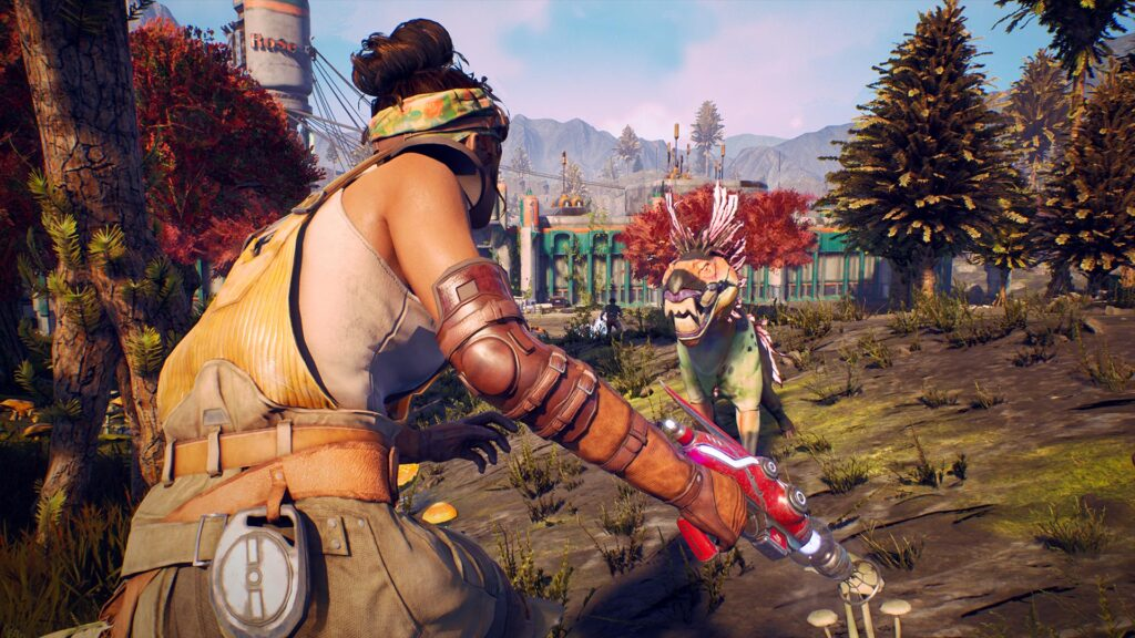The Outer Worlds Screenshot Parvati