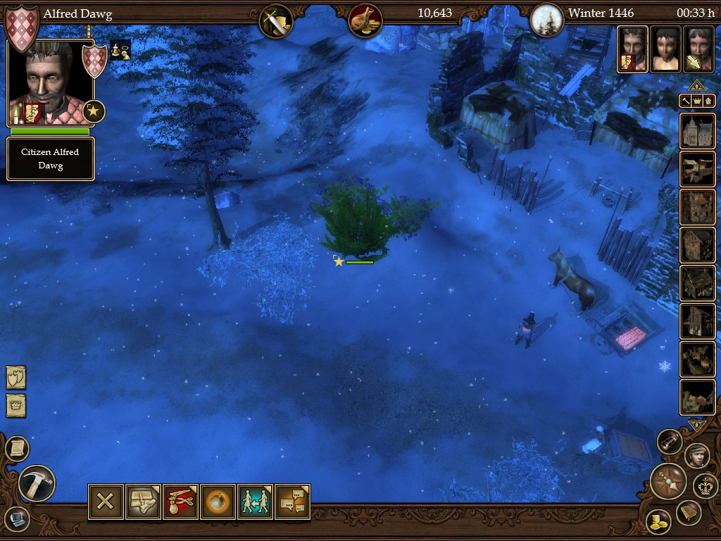 Screenshot from The Guild 2, a game similar to Kenshi