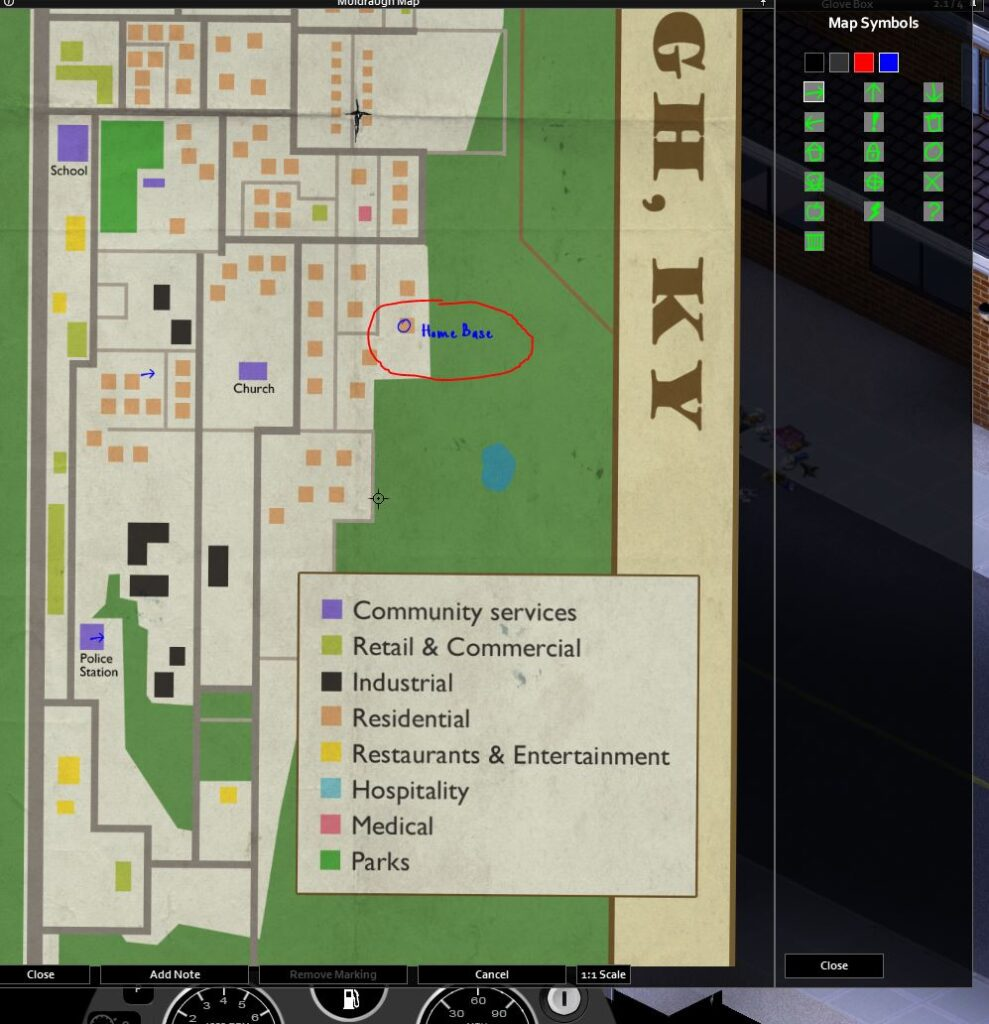 Adding symbols and words to the muldraugh map in project zomboid - build 41