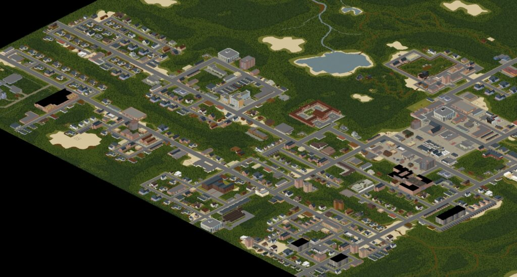 Project Zomboid mods build 41 map