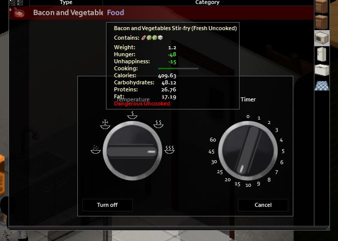 How to cook in Project Zomboid How to use the Microwave image