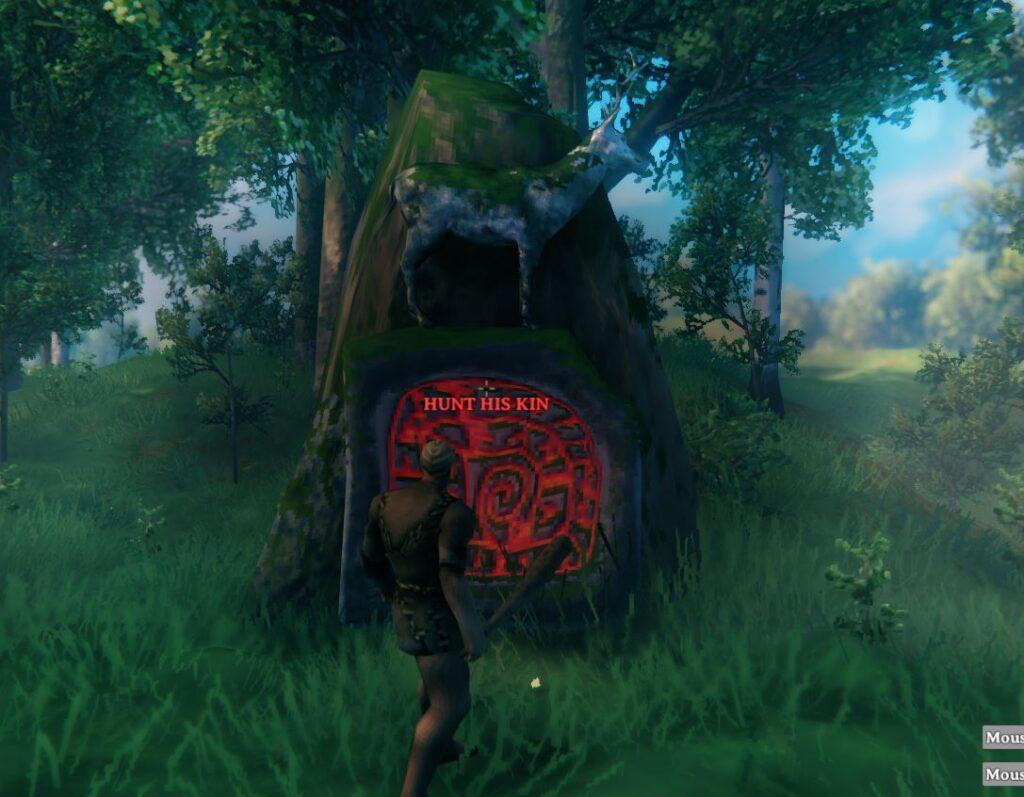 Hunt his Kin in Valheim to summon Eikthyr