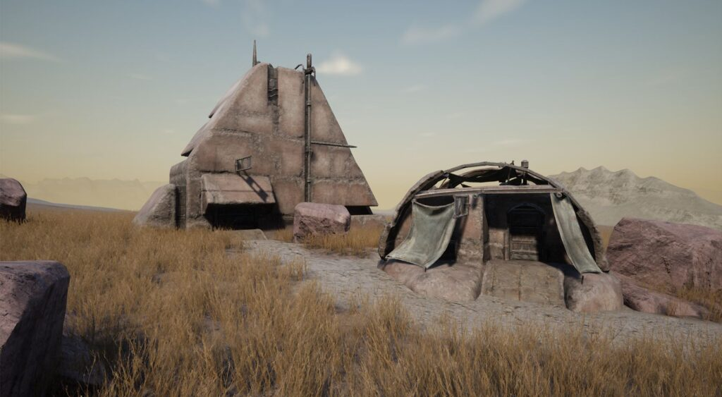 Buildings within Kenshi 2