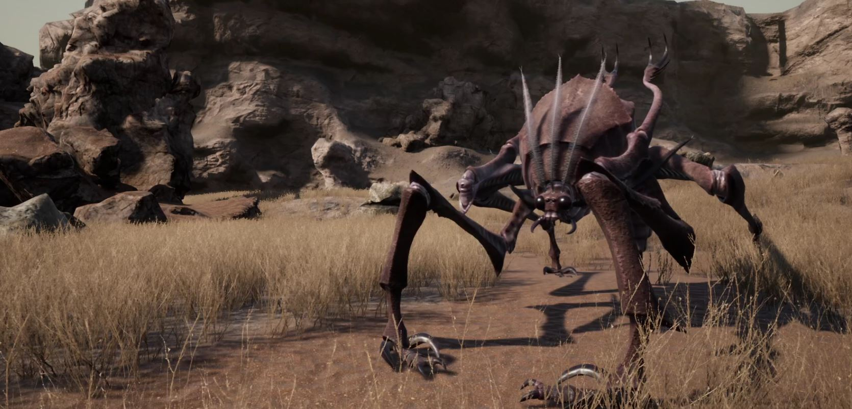 A large bug-like enemy shown in Kenshi 2