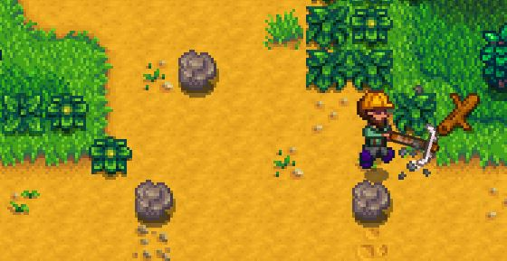 findding clay in stardew valley method 3