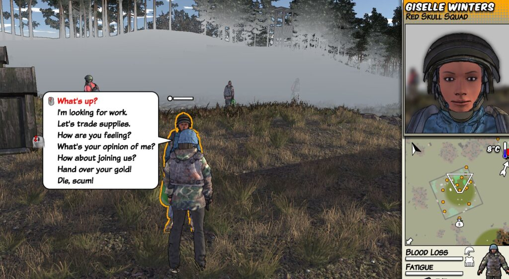 Screenshot from survivalist invisible strain