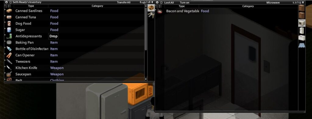 How to cook in project zomboid stir fry in the microwave build 41