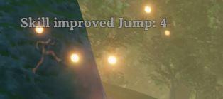 improved jump message in Valheim
