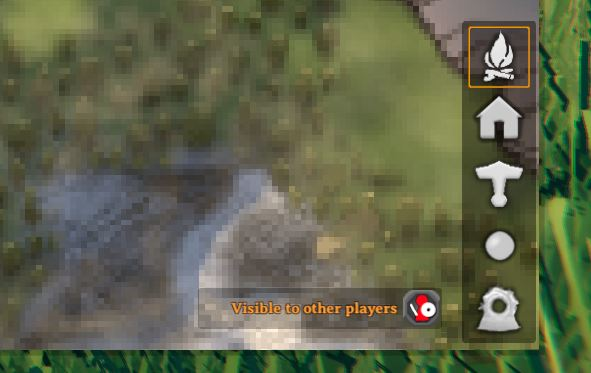 Find friends by marking visible to other players in valheim