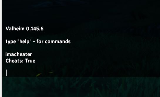 how to enable the unlocked free camera in Valheim using the console