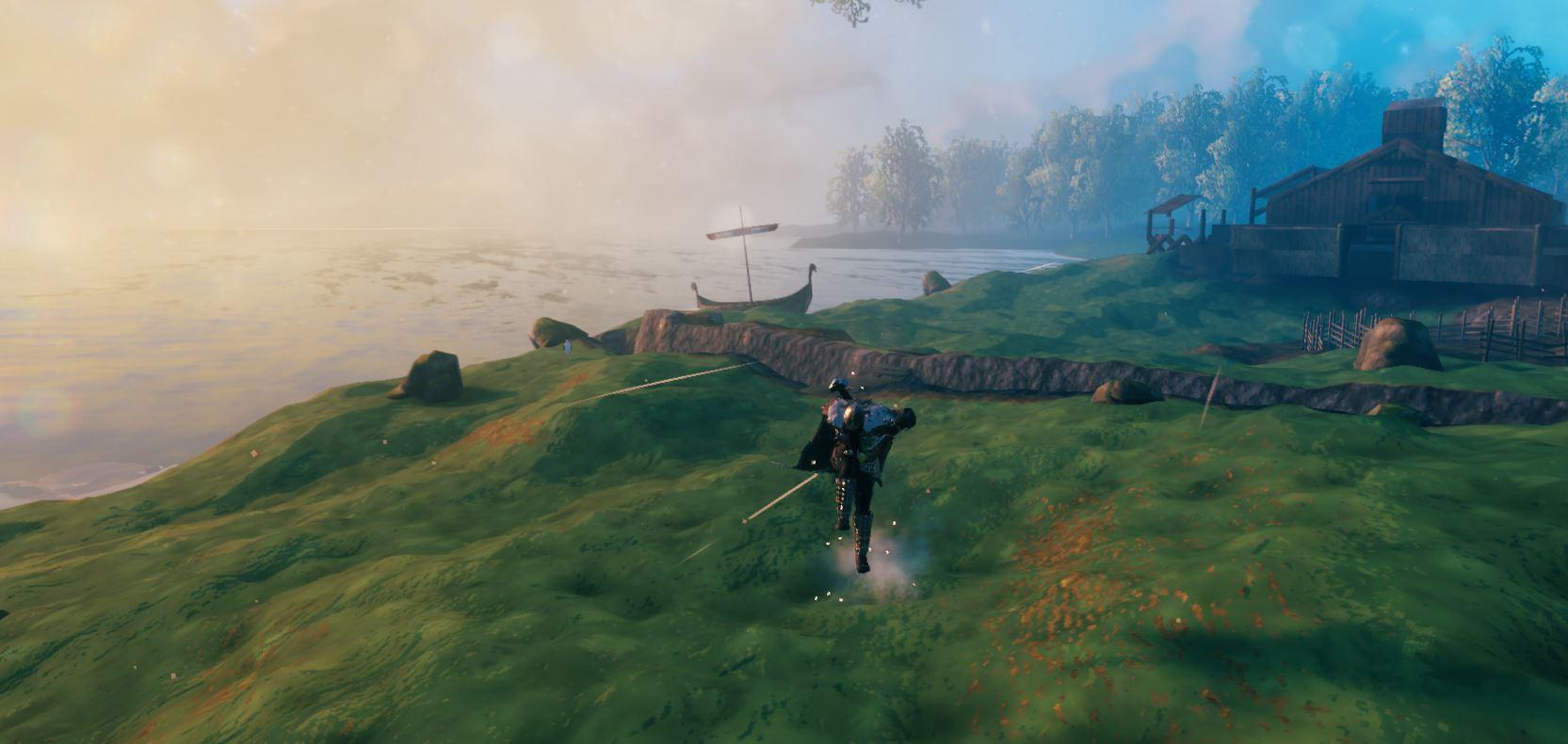 moving quicker in Valheim screenshot