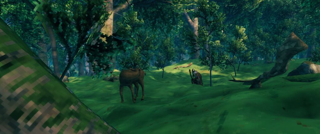 can deer sense your smell on the wind in valheim