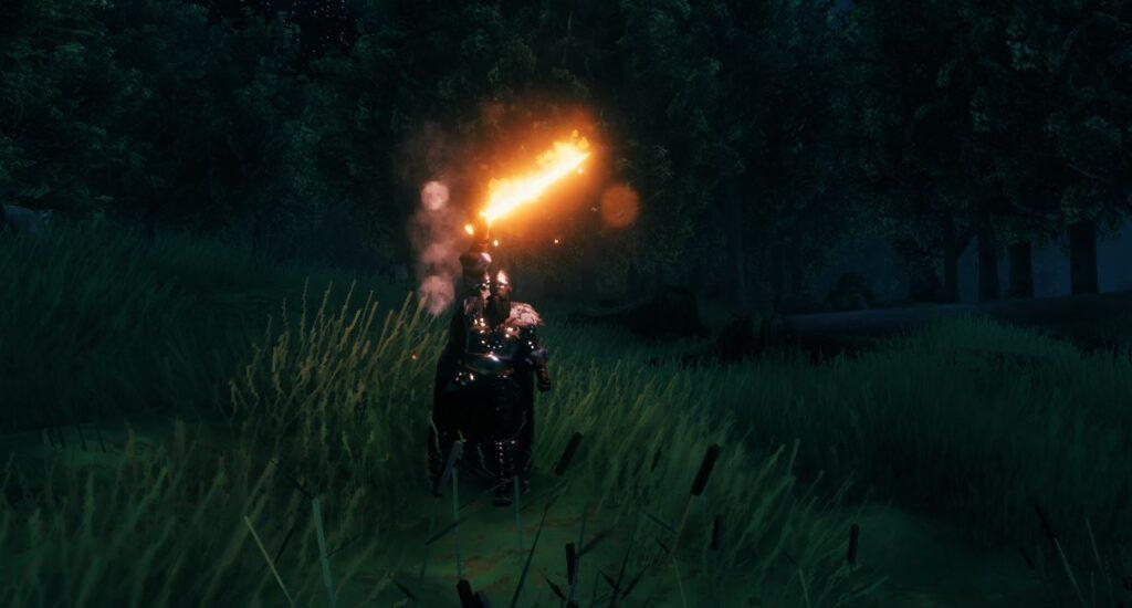 The fire sword Dyrnwyn is a great source of light in the dark