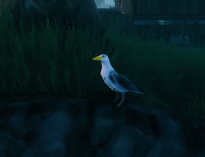 Seagulls are the best way to get feathers in Valheim