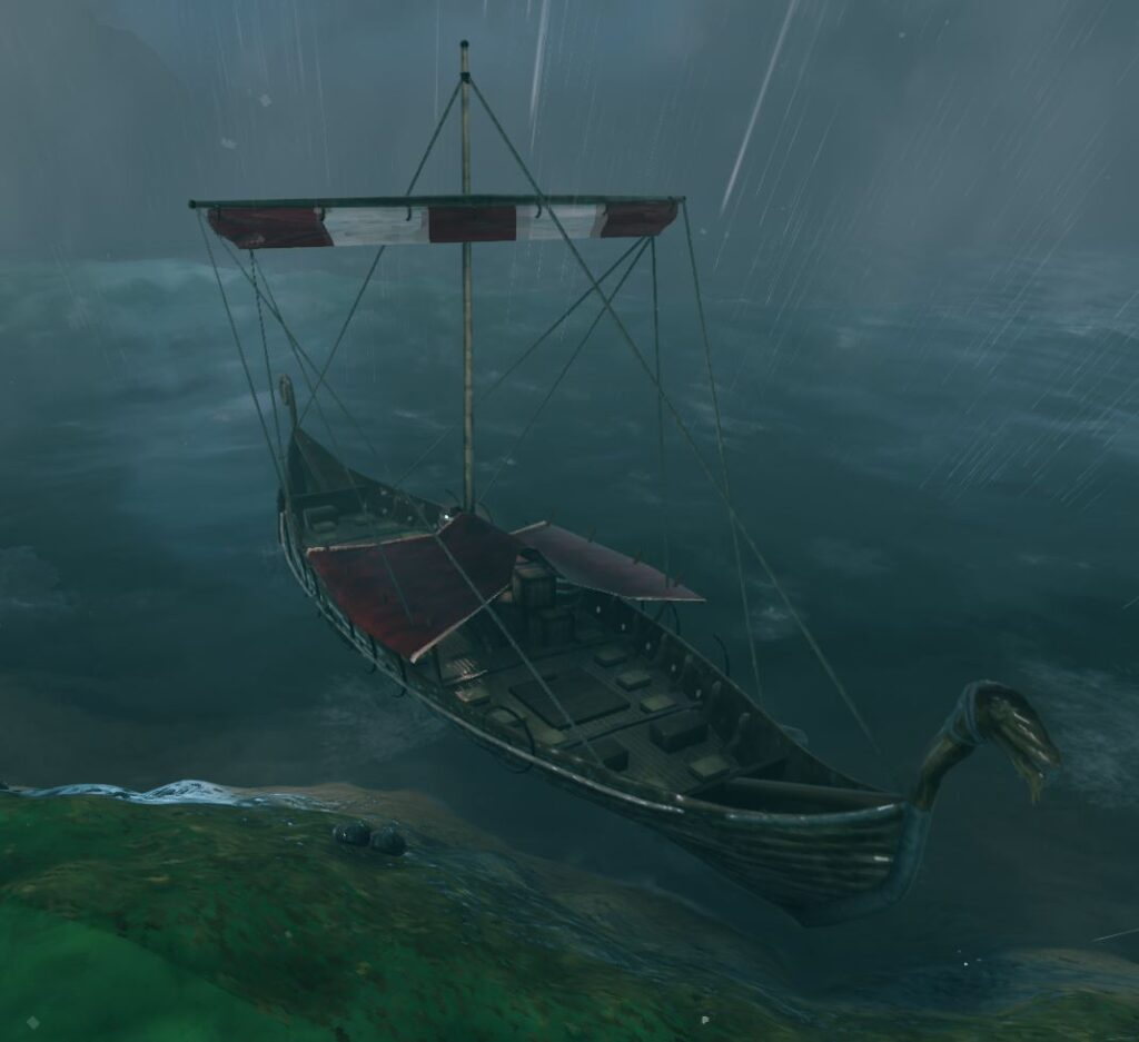 A possible upcoming ship in Valheim, the trader ship