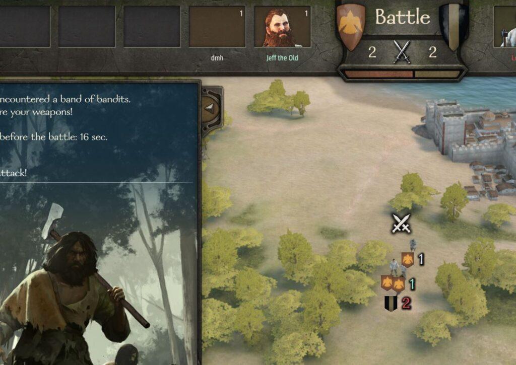 making denars defeating looters in Bannerlord online