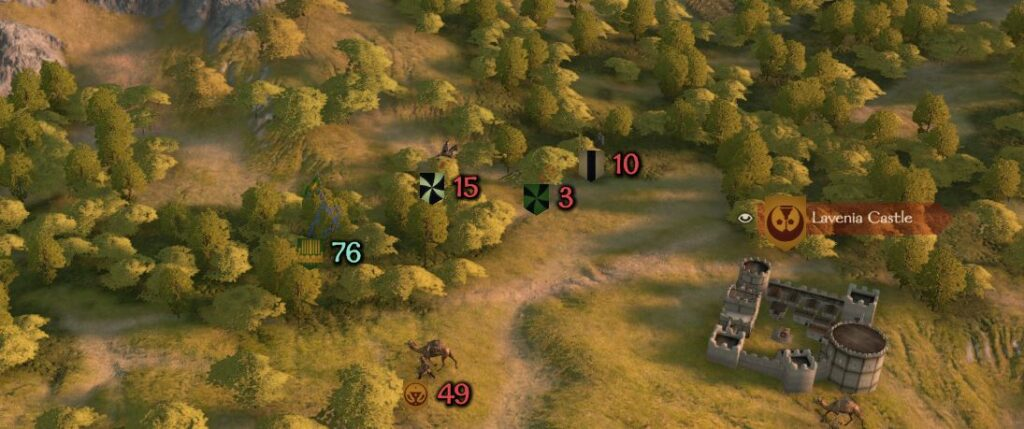 showing bandits on the world map in bannerlord