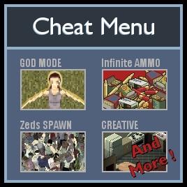 Project Zomboid cheat mod icon