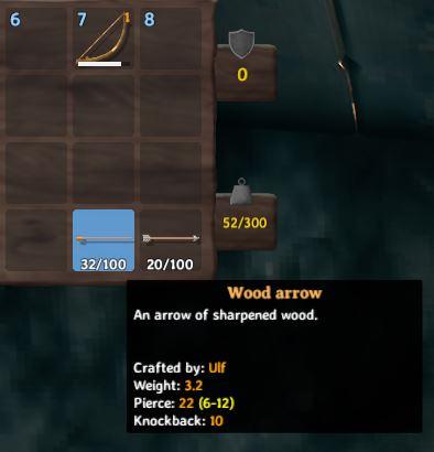 Cómo equipar flechas en Valheim