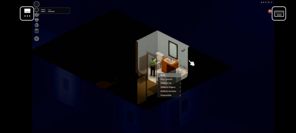 Playing Project Zomboid on Android using a Bluetooth controller