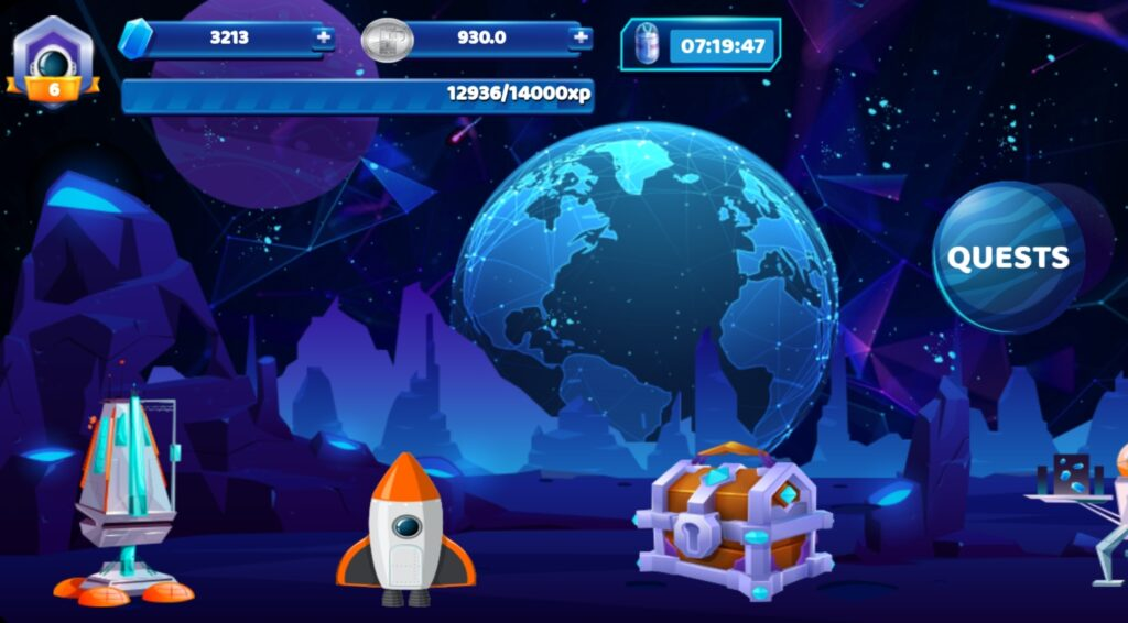 Play crypto planet to earn free Phoneum token