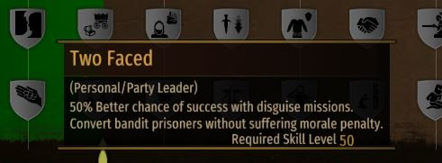 recruit prisoners without morale loss perk Bannerlord
