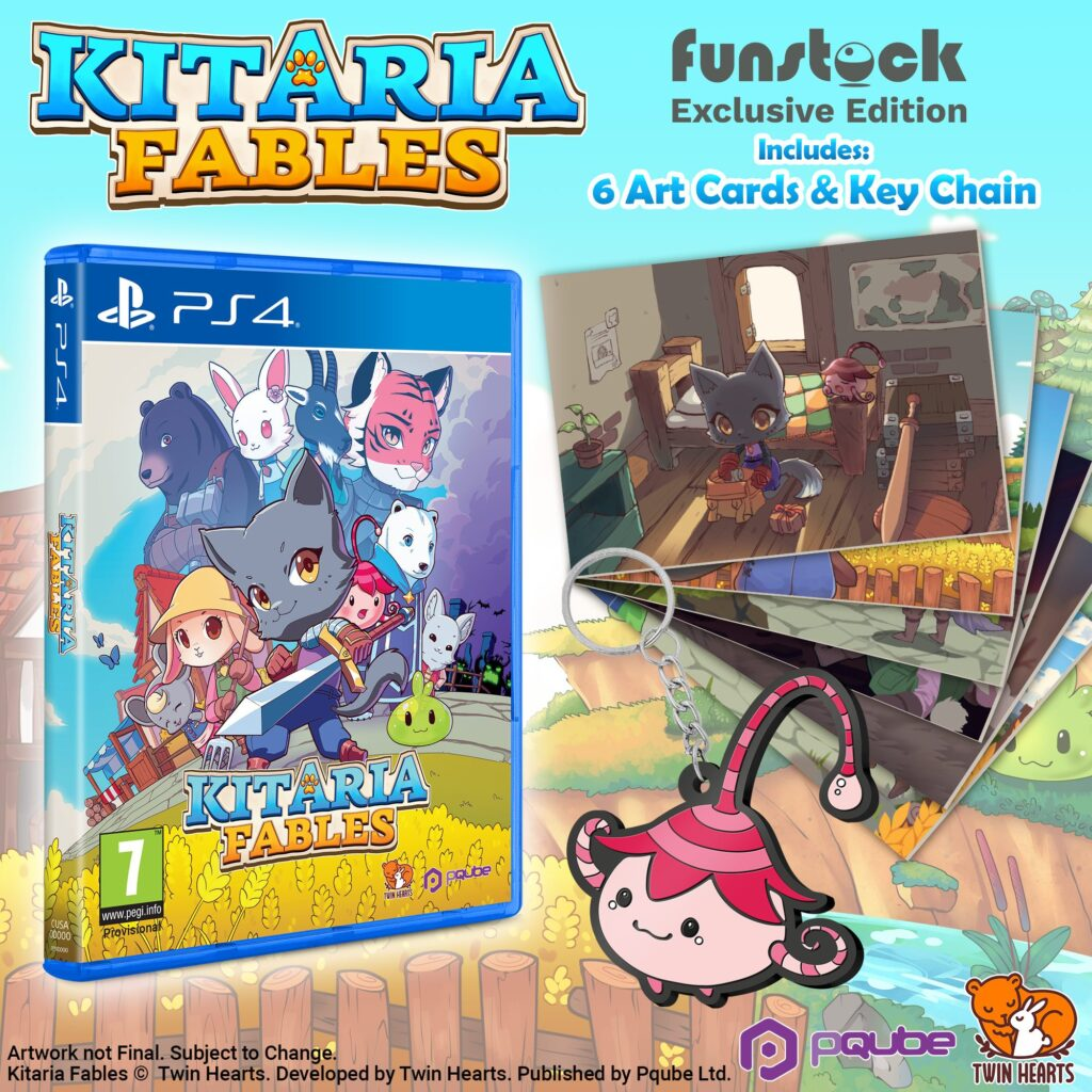 Preorder kitaria fables on playstation 4 Funstock image