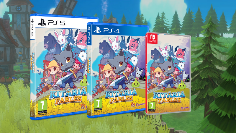 Kitaria Fables physical copy PS5, PS4 and Nintendo Swtich