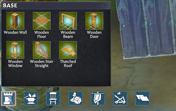 Building a house in Going Medieval