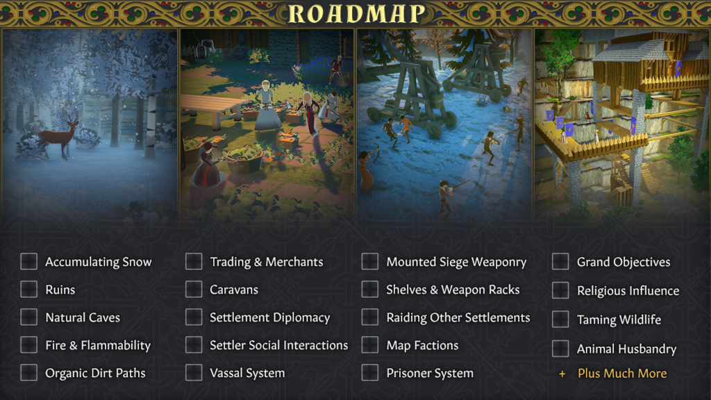 the going medieval early access roadmap