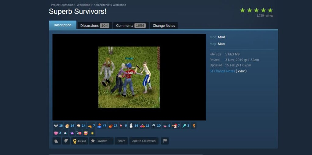 Adding NPCs to project zomboid with a mod on the steam workshop